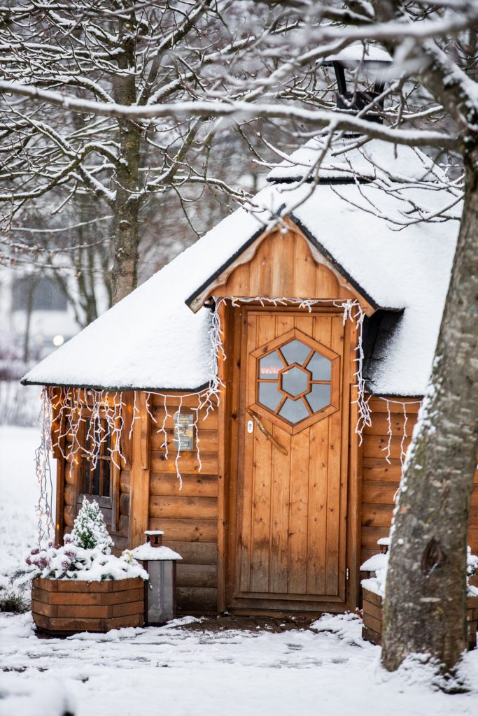 Kota - skandinavische Grillhütte in Vaterstetten am Reitsberger Hof Landlust